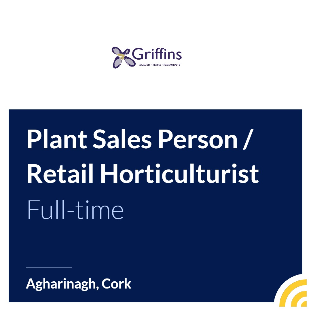 Plant Sales Person / Retail Horticulturist - Apply for Job | JobAlert