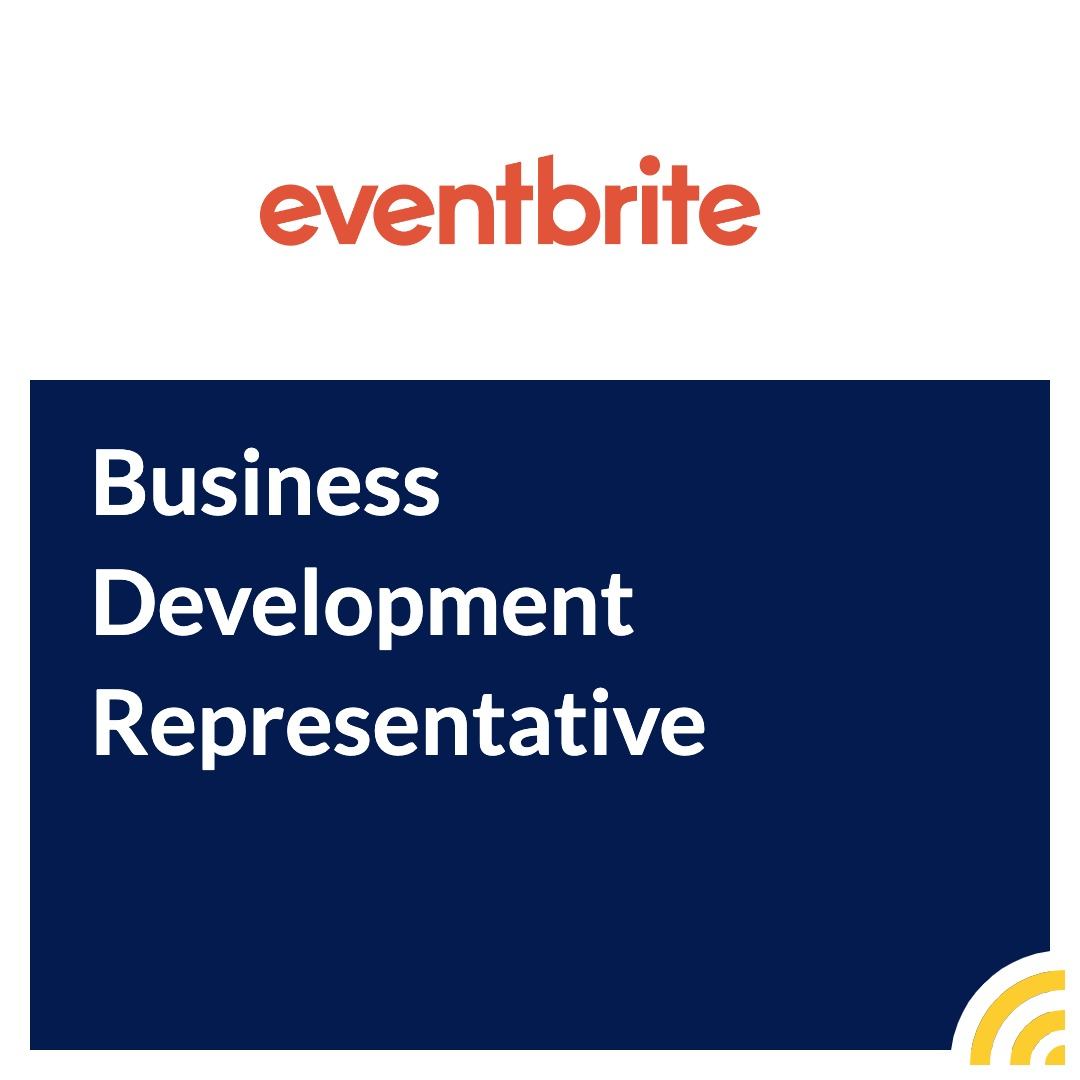 Business Development Representative - Eventbrite - Cork