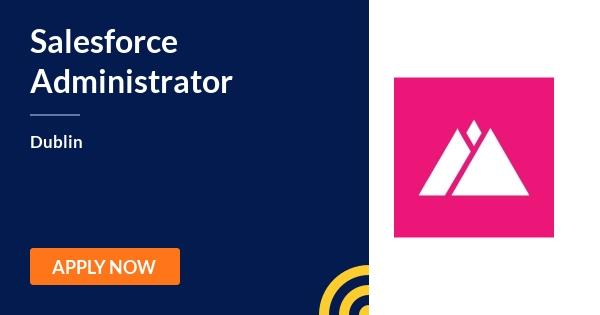 Salesforce Administrator - Web Summit - Dublin | JobAlert